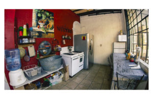 well equipated kitchen with all needed, very beautifull decoration casa maribel