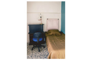 Single bed with desk for studying in casa maribel conexion gdl
