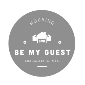 Guadalajara Student Housing Be my guest logo blue