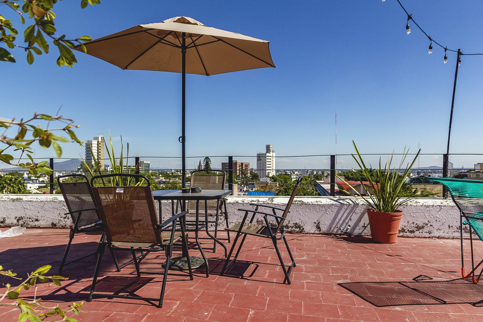 Casa Xalisco – Rooftop Chapultepec